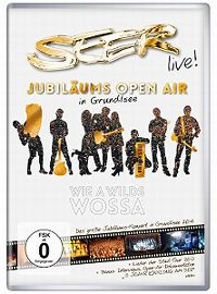 Cover Seer - Live! Jubiläums Open Air in Grundlsee - wie a wilds Wossa [DVD]